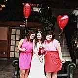 Bridesmaid Heart Balloons