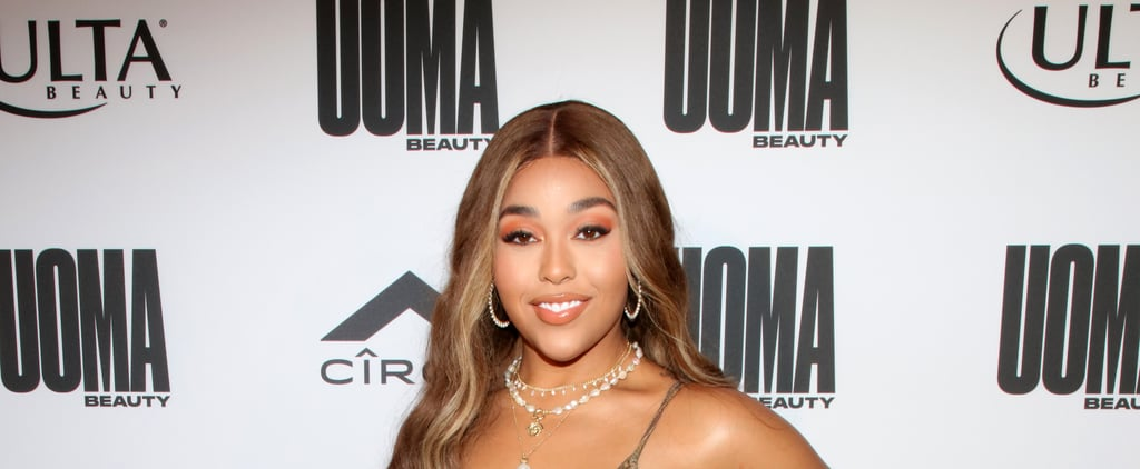 Jordyn Woods's Inverted Bob Haircut