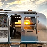 The Airstream Looks Pretty Dreamy at Golden Hour, Don't You Think?