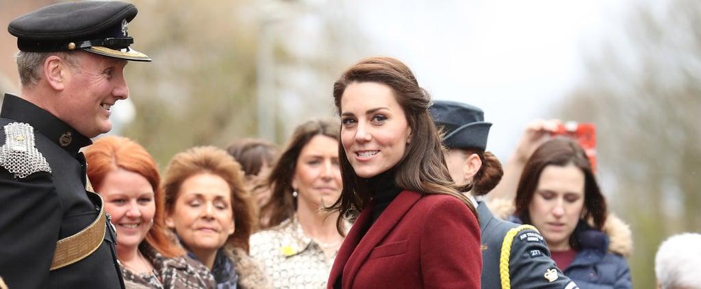 Kate Middleton Wearing  Paule Ka Suit