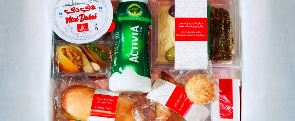 What Emirates Airlines' Iftar Meal Looks Like