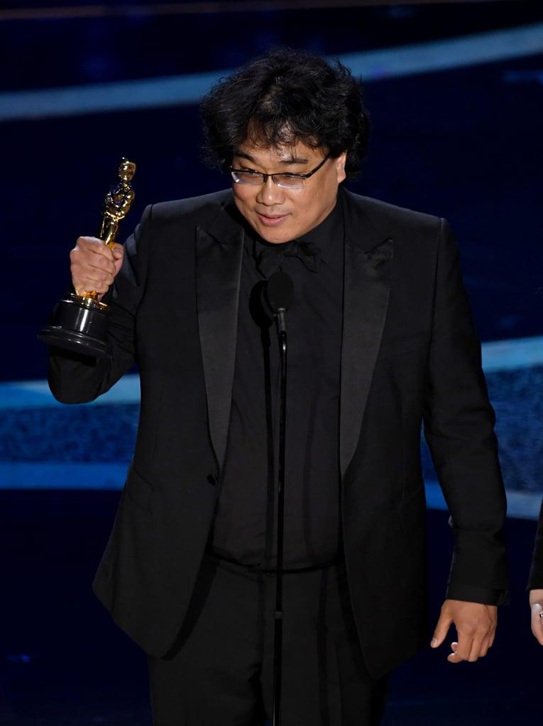 Bong Joon-Ho's Best Moments at the 2020 Oscars