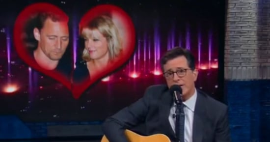 Stephen Colbert Sings an Ode to Hiddleswift