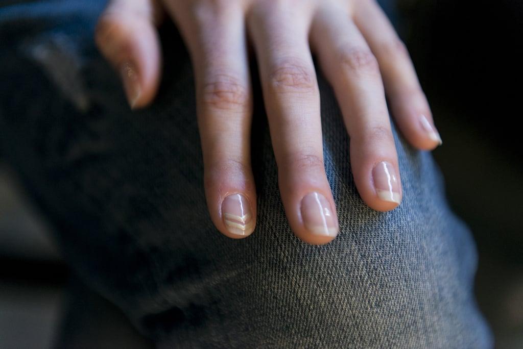Straight Line Nail Art : Nail art tips from fashion week fall popsugar