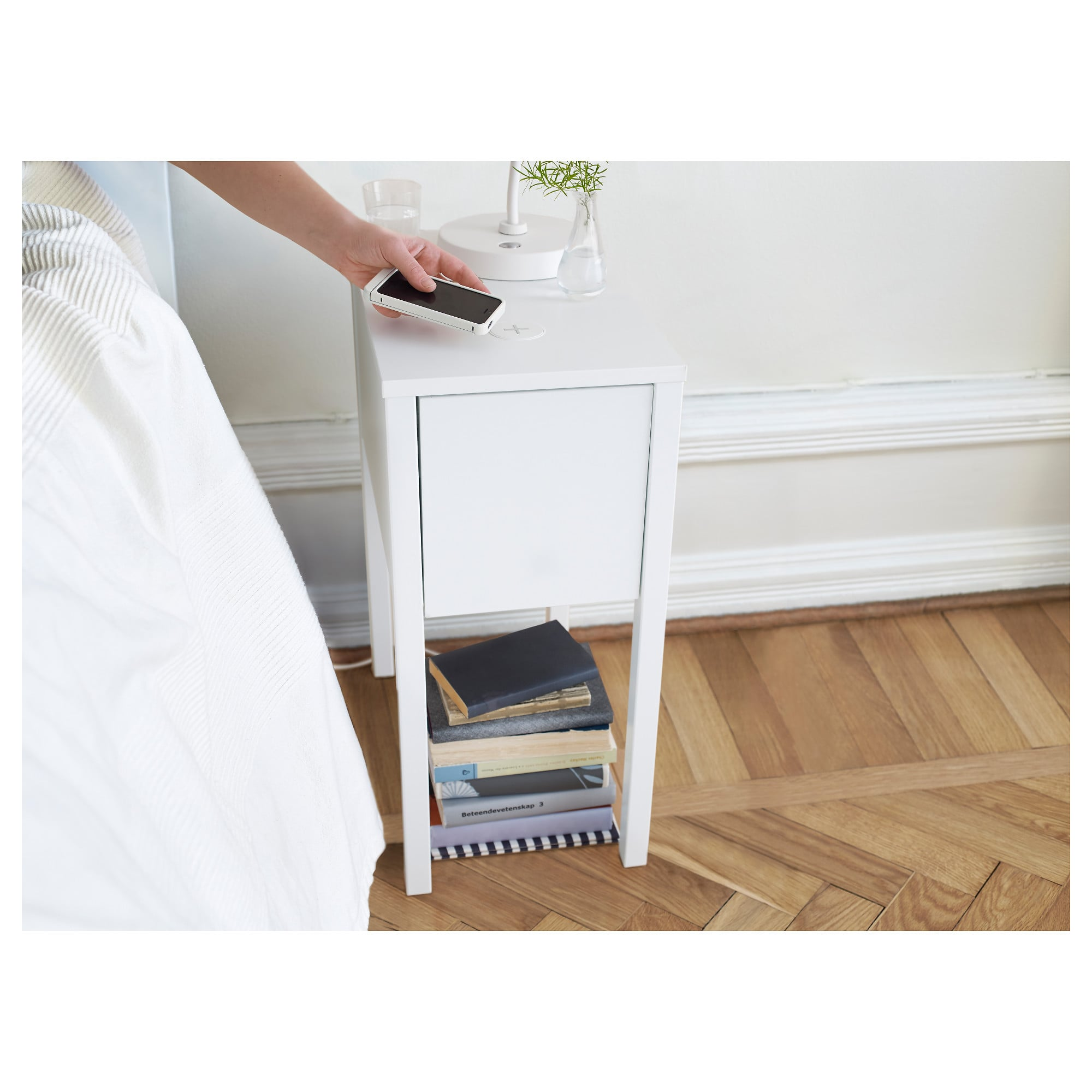 Nordli Nightstand With Wireless Charging 110 11 Of The Best Modern Pieces From Ikea Popsugar Tech Photo 10