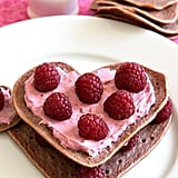 Raspberry Cream Cheese Pan-Crepes