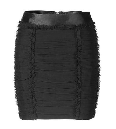 Textured Miniskirt