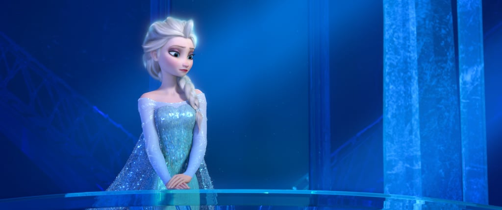Elsa Wearing Blue in Frozen