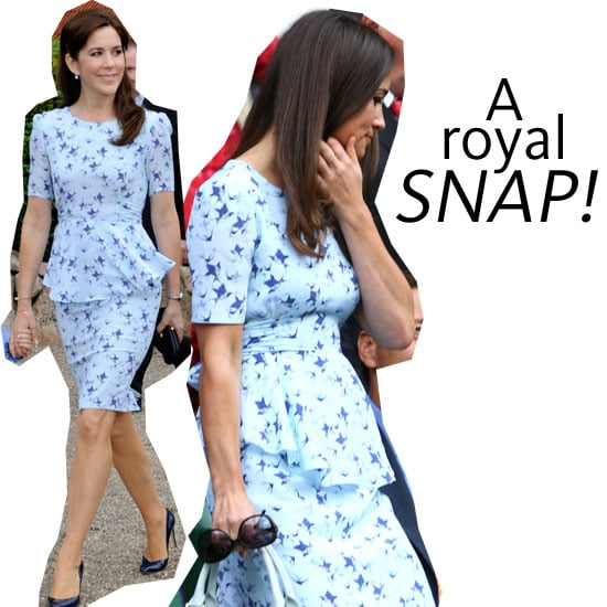 Pippa Middleton Wears Same 'Phoebe' Bluebird Print Project D Dress to Wimbledon as Princess Mary: Who Wore It Better?