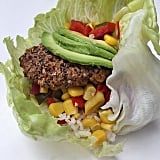 For a dinner that will please everyone at the table, start with a homemade veggie burger to pair with avocado and corn salsa.