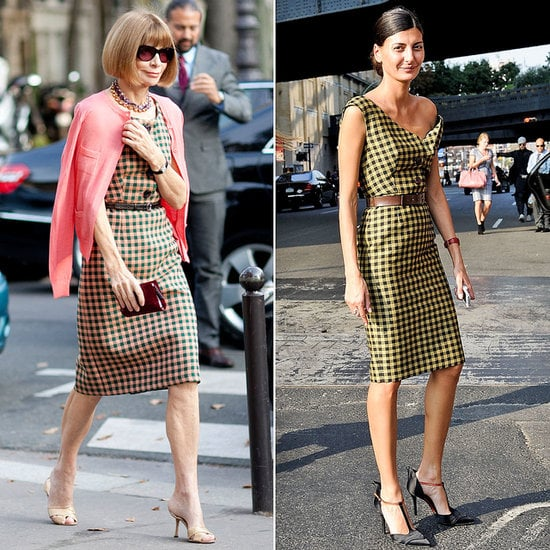 Twinsies! See which street style stars shared more than just show tickets this season.