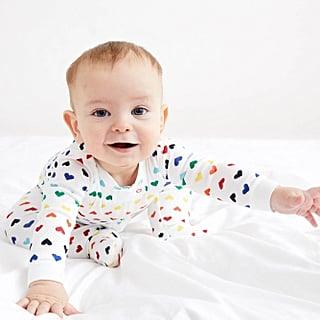 Primary Rainbow Heart Pajamas