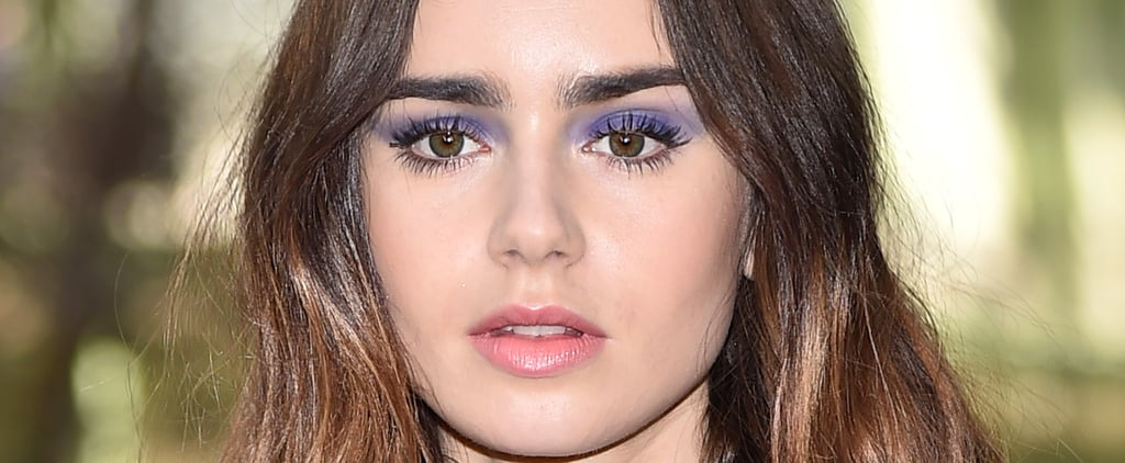 '80s-Inspired Smoky-Purple Eye Makeup Is For Girls Who Just Wanna Have Fun