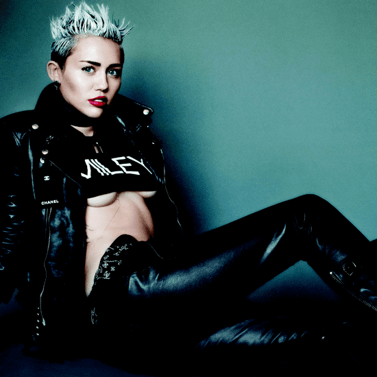Miley Cyrus V Magazine Photo Shoot | Video