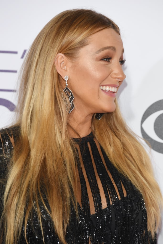 Blake lively hair and makeup at peoples choice awards 2017 blake lively shows an attitude of gratitude to her glam squad on instagram urmus Image collections