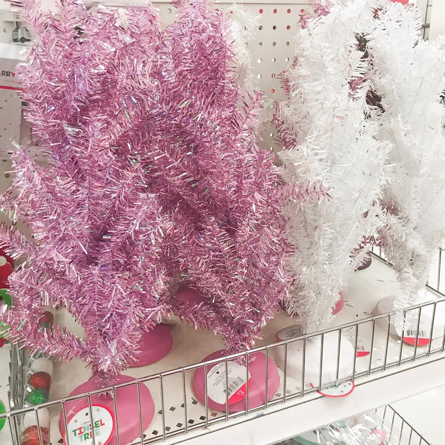Target Is Selling Mini Pink Christmas Trees For Just 3 Popsugar Home