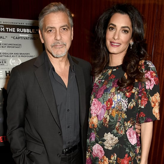 George Clooney's First Quotes About Amal's Pregnancy 2017