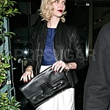 Charlize Theron at Mr. Chow in LA.