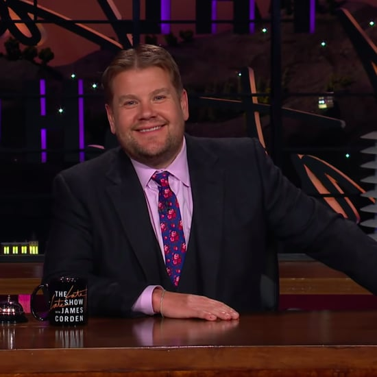 Watch James Corden Get Pressured Into a Middle Part | Video