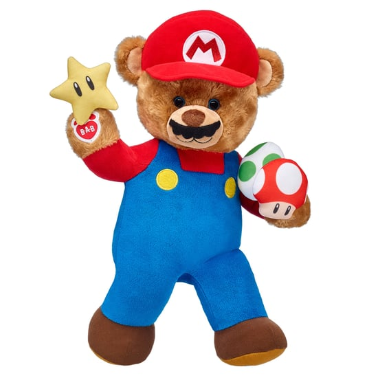 Build-A-Bear Nintendo Super Mario Collection December 2017