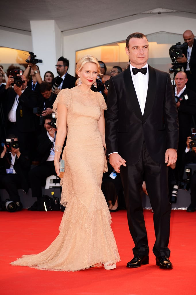 Naomi Watts supported her husband Liev Schreiber at the premiere of his new film, The Reluctant Fundamentalist, at the 69th Venice International Film Festival on August 29.