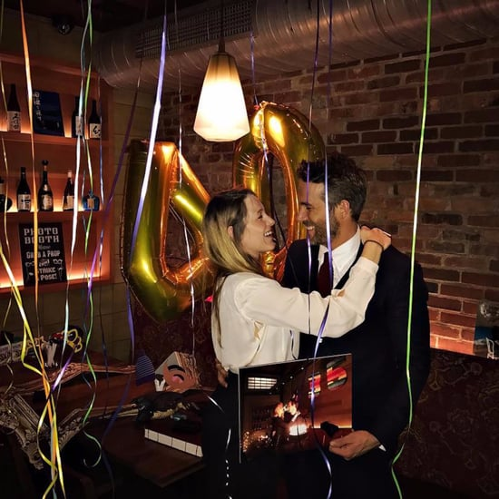 Blake Lively and Ryan Reynolds on His 40th Birthday