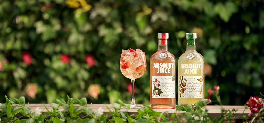 Absolut Juice Strawberry Spritz Recipe