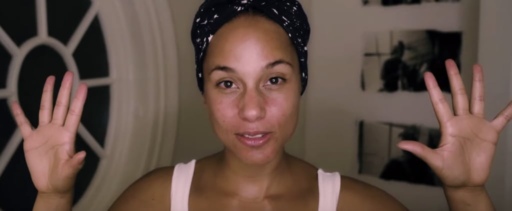 Alica Keys's Nighttime Skincare Routine — Video