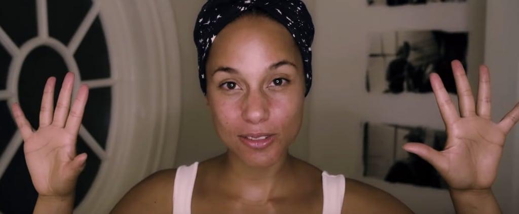Alica Keys's Nighttime Skincare Routine —Video