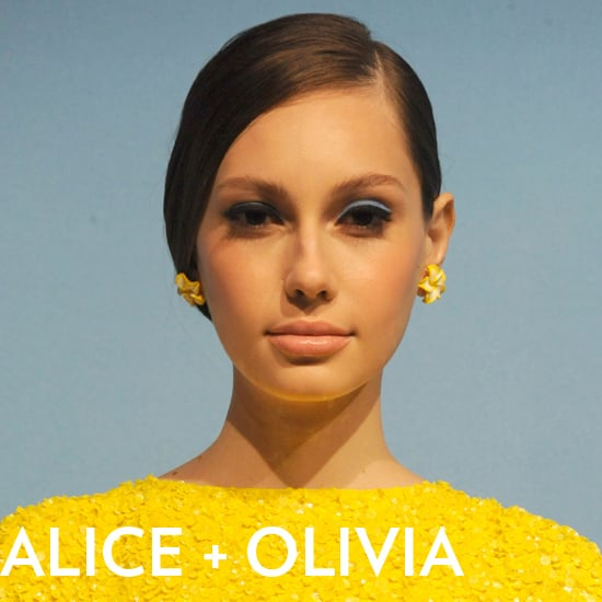 Alice + Olivia Hair and Makeup Spring 2013