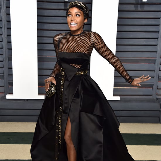 Janelle Monae Oscars Afterparty Dress 2017