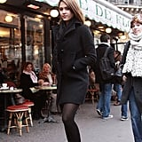 Jessica Alba, or as I like to call her, the street style pro, showed off another sophisticated-cool look in Paris.