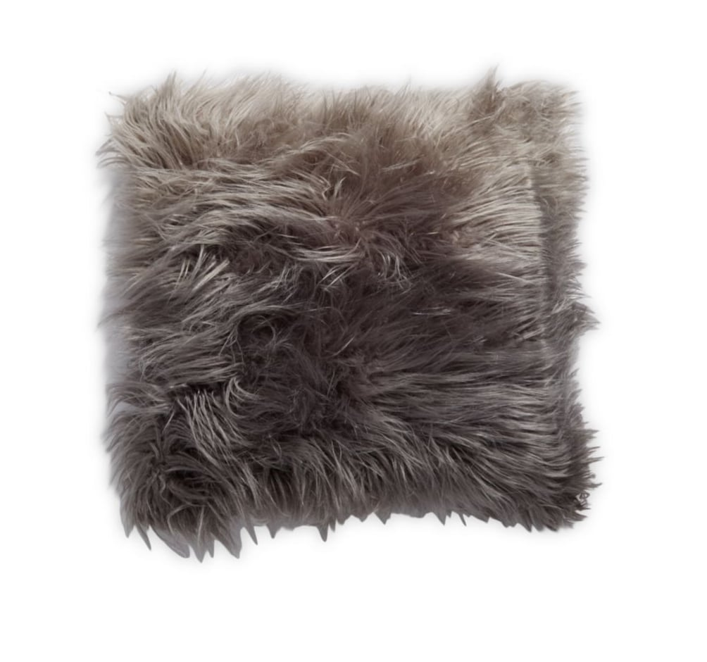 details metallic pink about itm cover pillow cushion lansfield catherine fur throw faux white grey