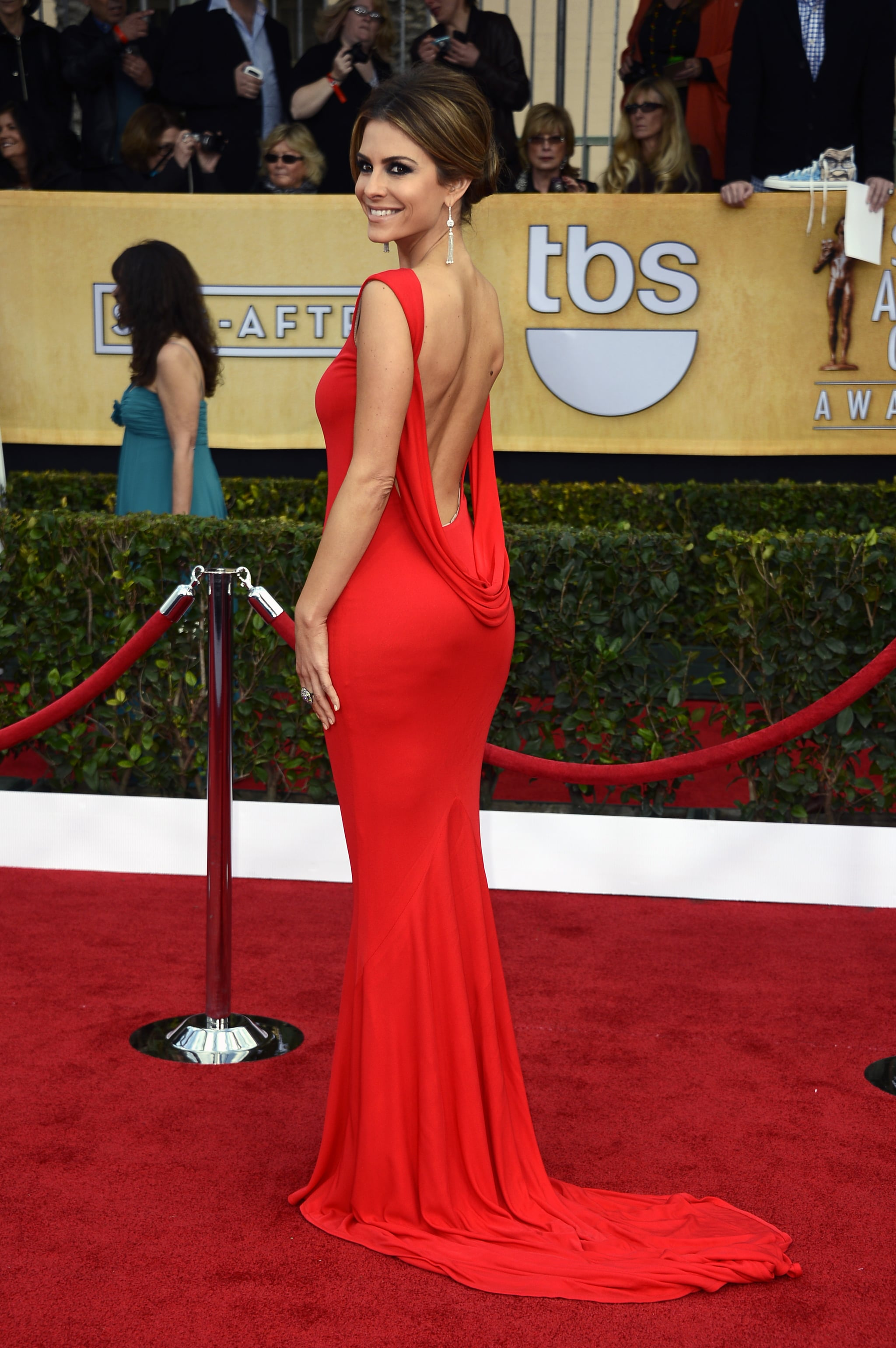 Maria Menounos Brought Sexy Back In A Fiery Red Confection By