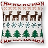 Reindeer Applique Pillow ($25)