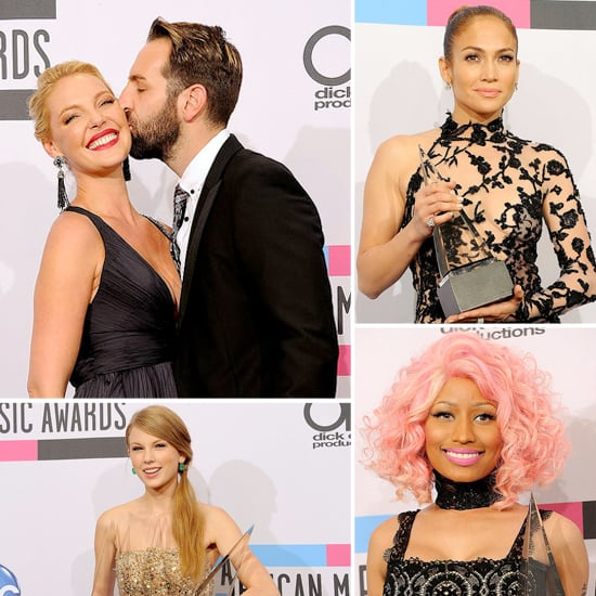 J Lo, Taylor, Nicki, and More Celebrate AMA Victories in the Press Room