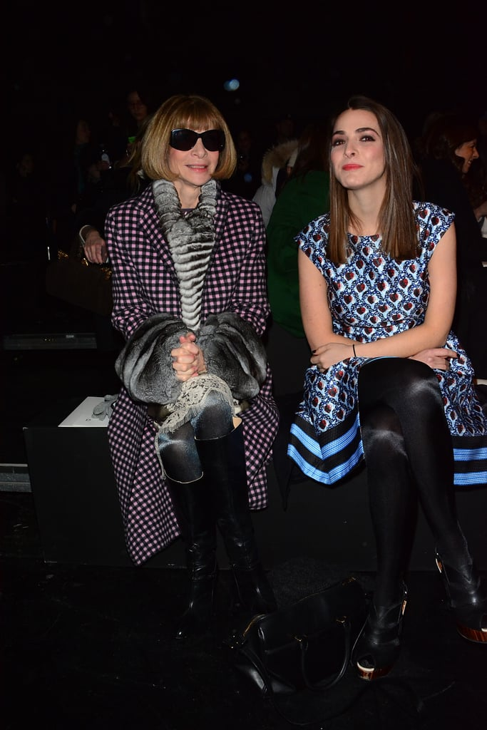 Anna brought her daughter, Bee, to the Prabal Gurung show on Saturday.
