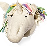 Fiona Walker England Rainbow Unicorn Head Wall Mount