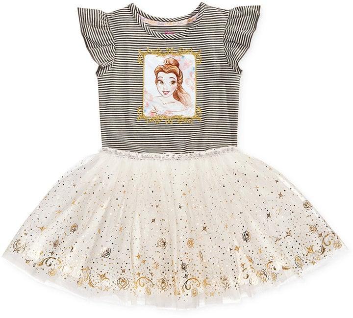 400d7d64878fd Disney Beauty and The Beast Princess Belle Graphic-Print Tutu Dress ($25,  originally