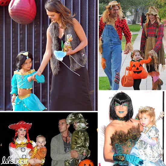 Ghosts of Halloweens Past: A Look Back at Celeb Tots' Best Halloween Costumes