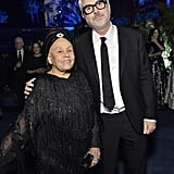 Betye Saar and Alfonso Cuarón at the 2019 LACMA Art + Film Gala