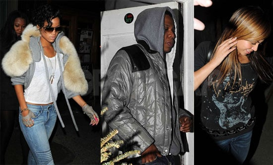 Beyonce and Jay-Z With Rihanna