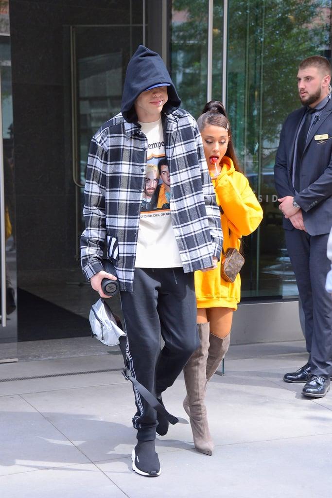 dcc6960b5da Ariana Grande Wearing Thigh High Boots