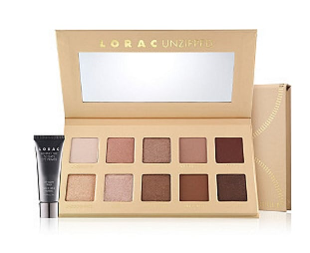 LORAC Unzipped Palette or Unzipped gold Palette, 50 percent off ($21, originally $42)