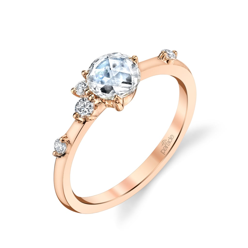 Rose-Cut Diamond Ring by Lumiere Bridal