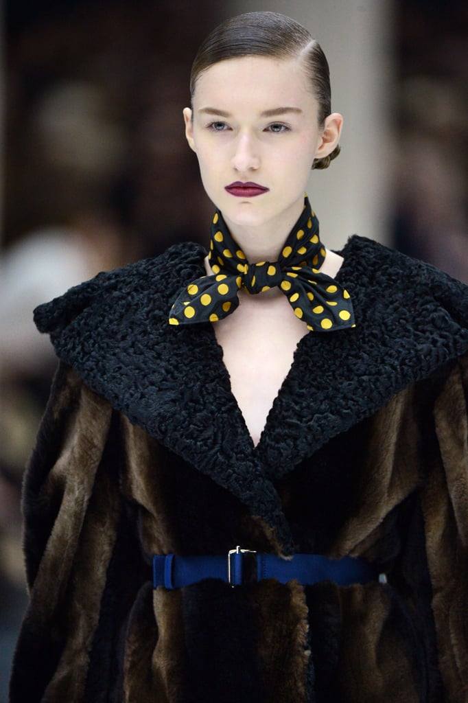 2013 Autumn Winter Paris Fashion Week: Miu Miu