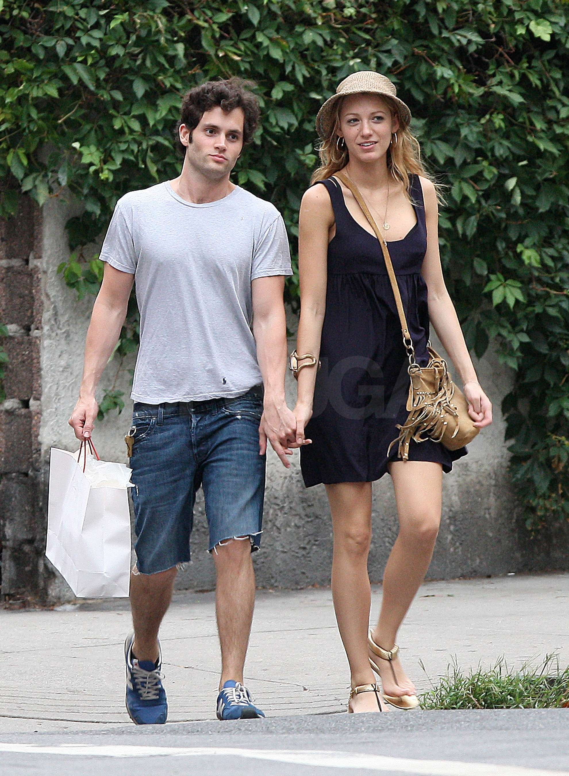 Pictures of Blake Lively and Penn Badgley Making Out in ... Blake Lively Movies
