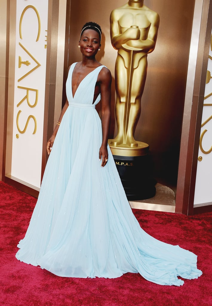 Lupita Nyong'o at the 2014 Academy Awards