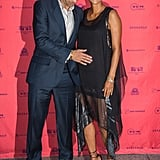 Halle Berry and Olivier Martinez walked the red carpet together at the Paris premiere of Toiles Enchantées in June 2013.