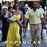 Chrissy Teigen and John Legend Family Holiday in Italy 2019